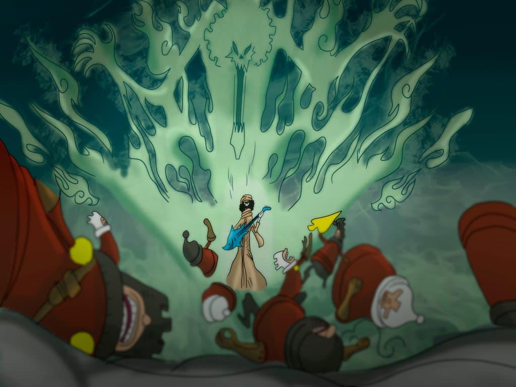 Diem danh 10 nhan vat lon tuoi nhat trong One Piece - Brook