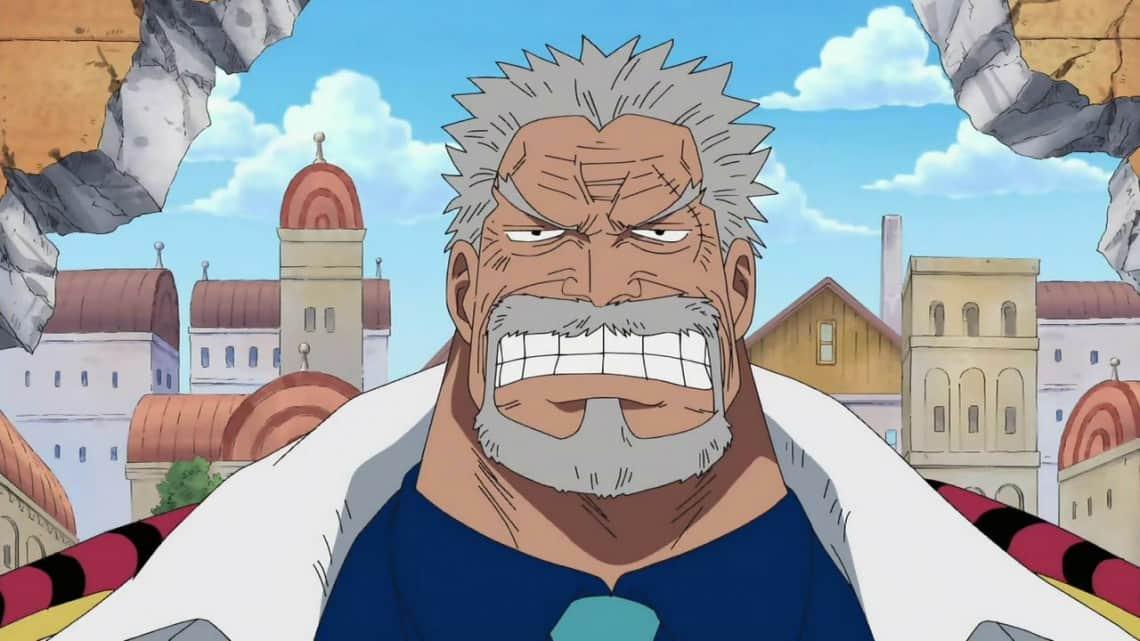 Diem danh 10 nhan vat lon tuoi nhat trong One Piece - Garp