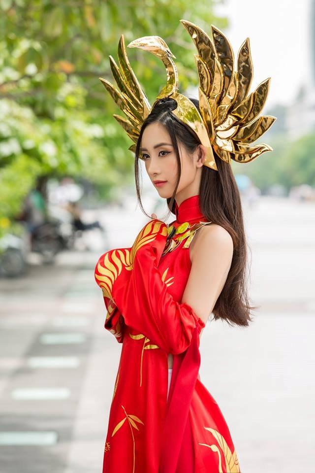 Jun Vu Cosplay llumia Thien nu Ao Dai - Lien Quan Mobile - 1