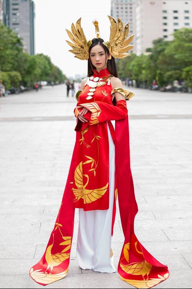 Jun Vu Cosplay llumia Thien nu Ao Dai - Lien Quan Mobile - 2