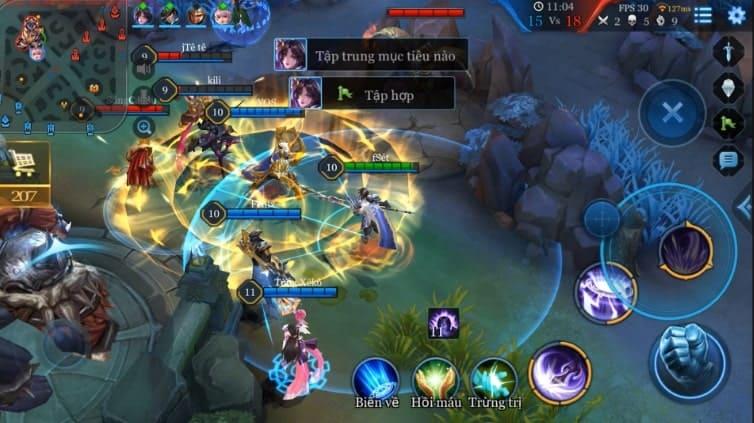 Combat la gi trong game Lien Quan Mobile, Lien Minh Huyen Thoai …