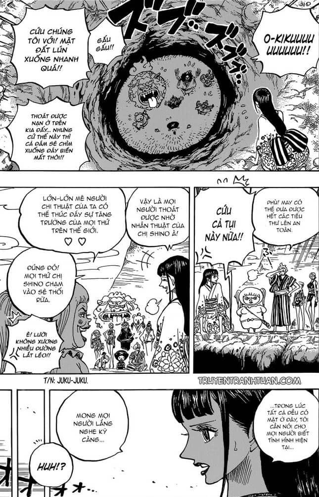 One Piece chapter 924 - Ngu hoang Luffy hoi ngo Kid trong tu - 6