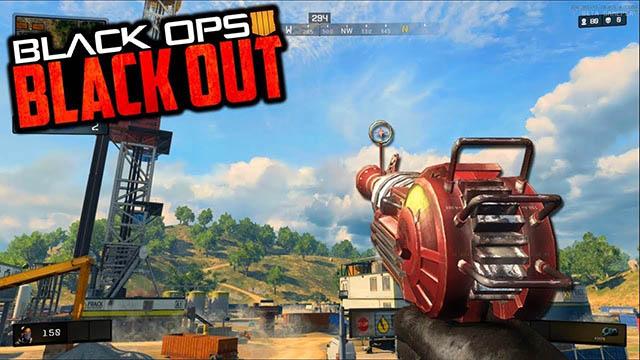 Top 5 khau sung manh nhat trong game Call of Duty Black Ops 4 - Ray Gun