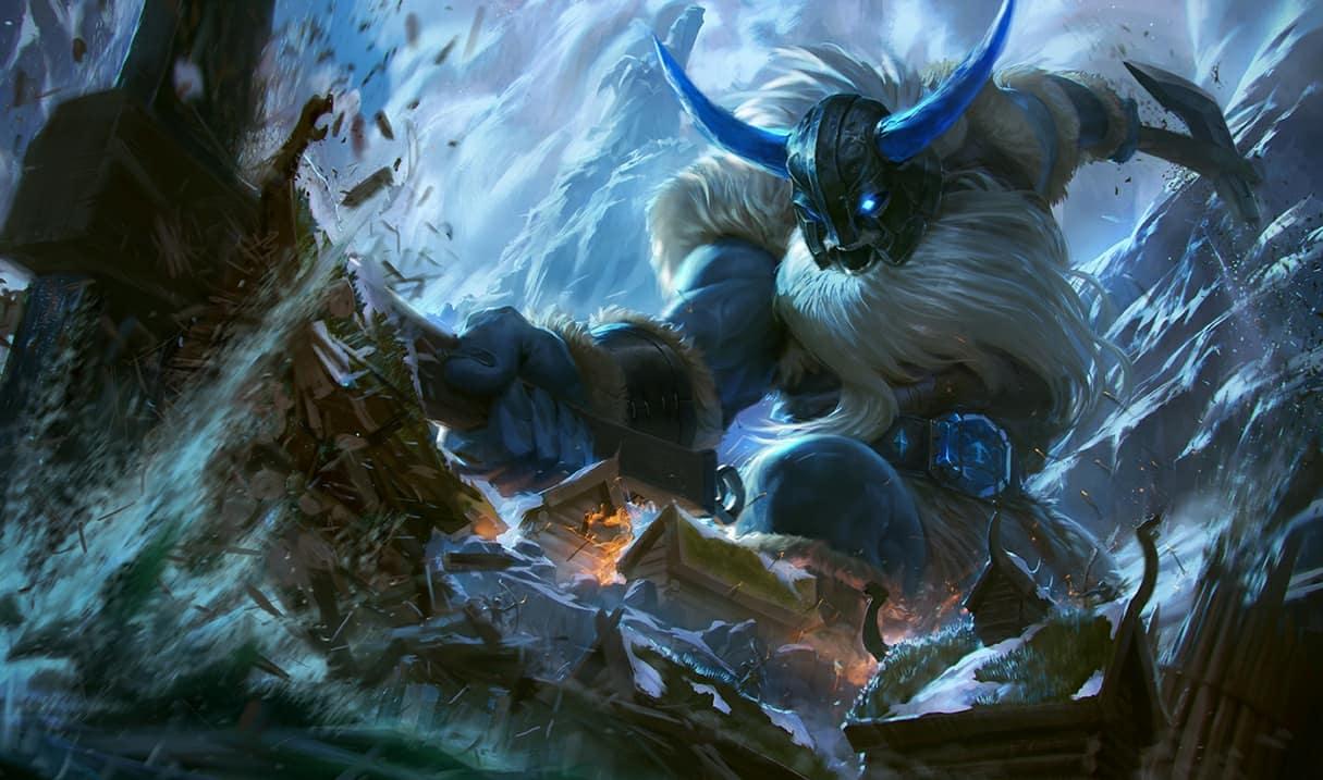 Cach khac che Sion – Chien binh bat tu - Olaf