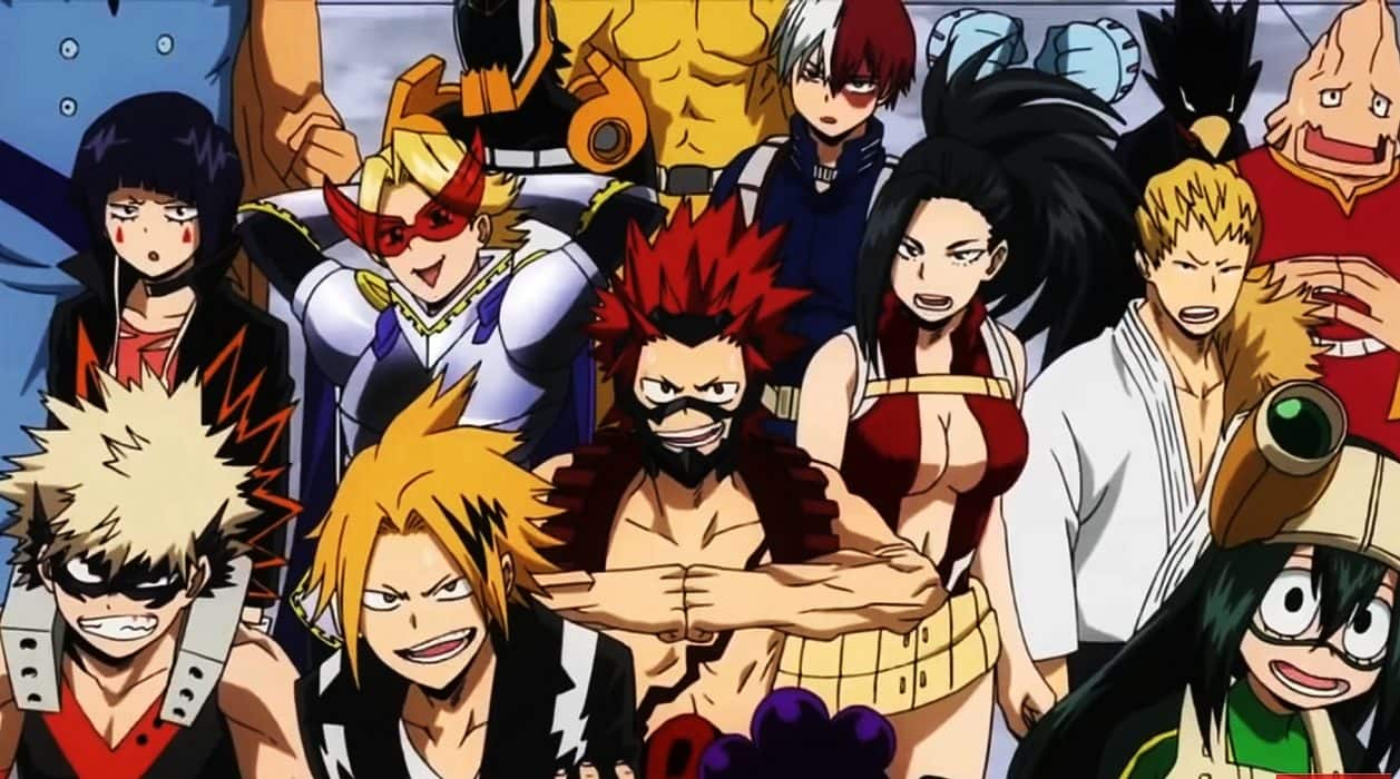 Top 10 Anime hay nhat 2018 ma ban khong the nao bo qua - My Hero Academia SS3