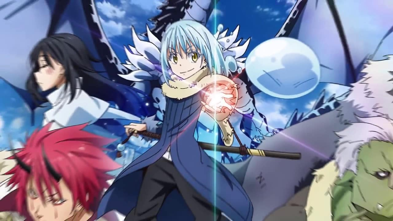 Top 10 Anime hay nhat 2018 ma ban khong the nao bo qua - Tensei shitara Slime Datta Ken