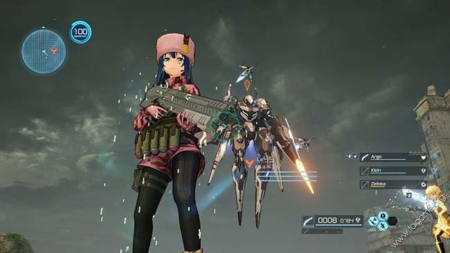 Game anime pc Offline - Sword Art Online: Fatal Bullet