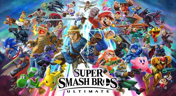 Những tựa game hay nhất năm 2019 - The Game Awards 2019 - Super Smash Bros. Ultimate